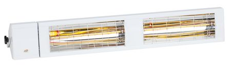Infrarot Heizstrahler Low Glare SMART IP24 MULTI 4000 Watt in Weiß