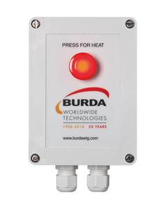 Burda Infrared Heater TS2-C Timer Softstart 2000 W IP20