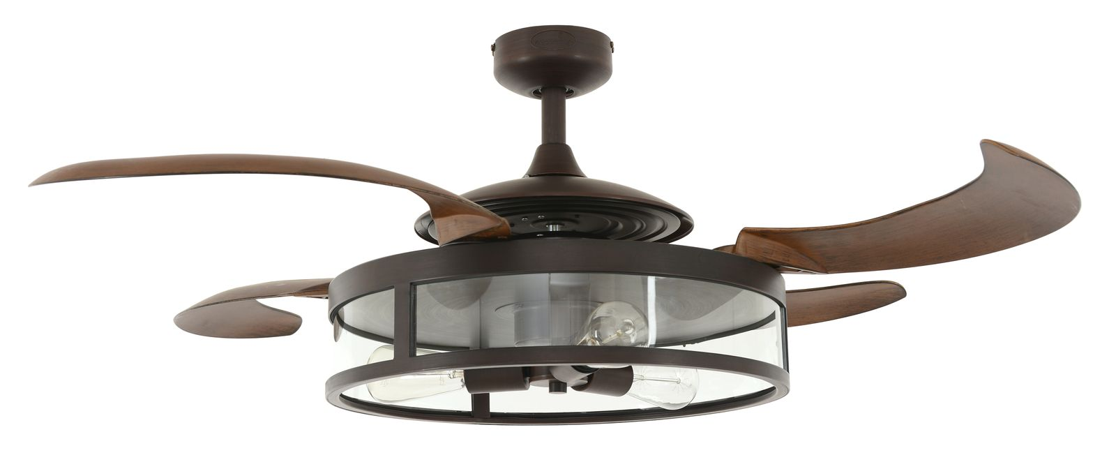 Retractable blade ceiling fan fanaway classic bronze ceiling fans for domestic and professional - Fanaway ceiling fan ...