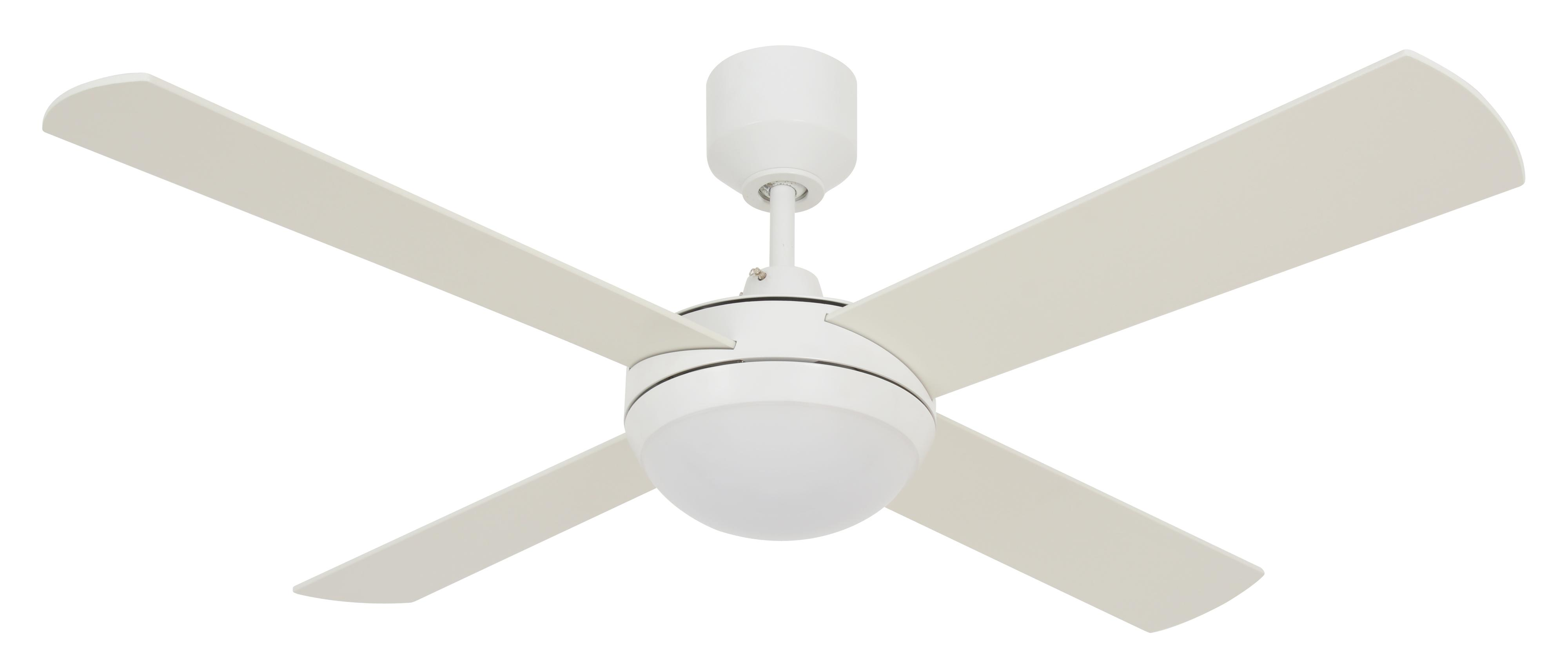 Led Ceiling Fan Futura Eco White With, Bathroom Heater Fan Light With Remote Control