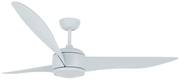 "Ceiling fan Nordic DC Blue 142cm / 56"" with remote control"