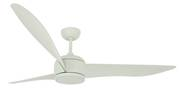 "Ceiling fan Nordic DC Mint 142cm / 56"" with remote control"