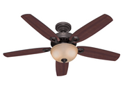 "Hunter ceiling fan Builder Deluxe 132cm / 52"" Bronze"