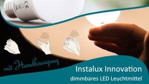 Instalux bewegungsgesteuerte LED Leuchtmittel E27 dimmbar – Bild 2
