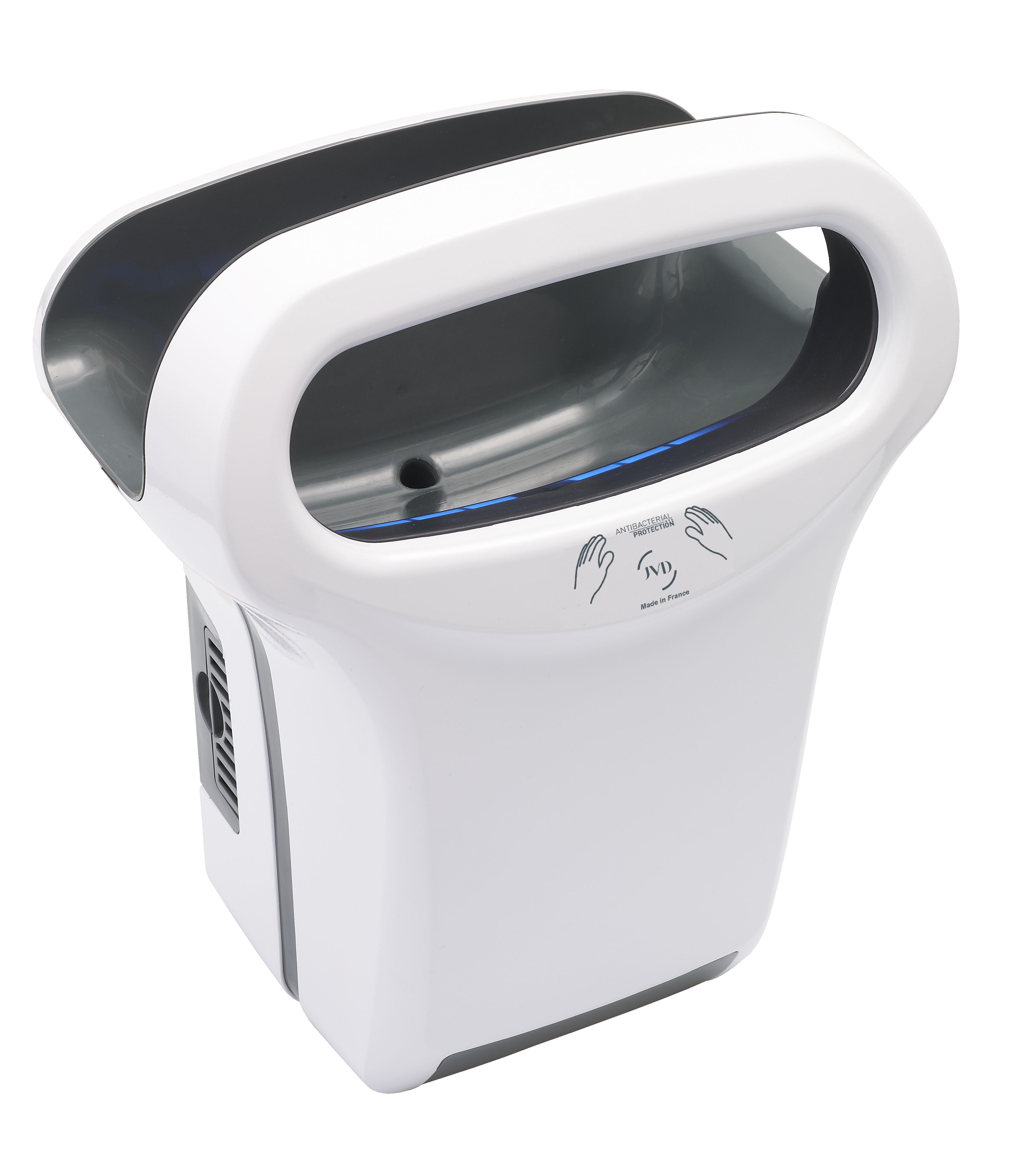 jvd automatic hand dryer exp 39 air ip44 ik10 professional hand dryers for commercial catering. Black Bedroom Furniture Sets. Home Design Ideas