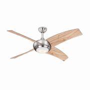Ventilateur de plafond Borealis Pin 122 cm avec LED