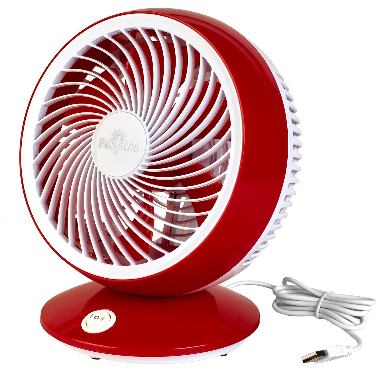 Low consumption USB desk fan
