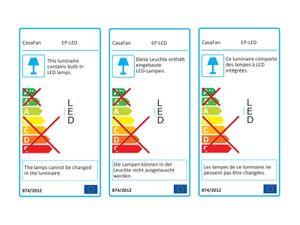LED Anbauleuchte für Deckenventilator Eco Plano II – Bild 7