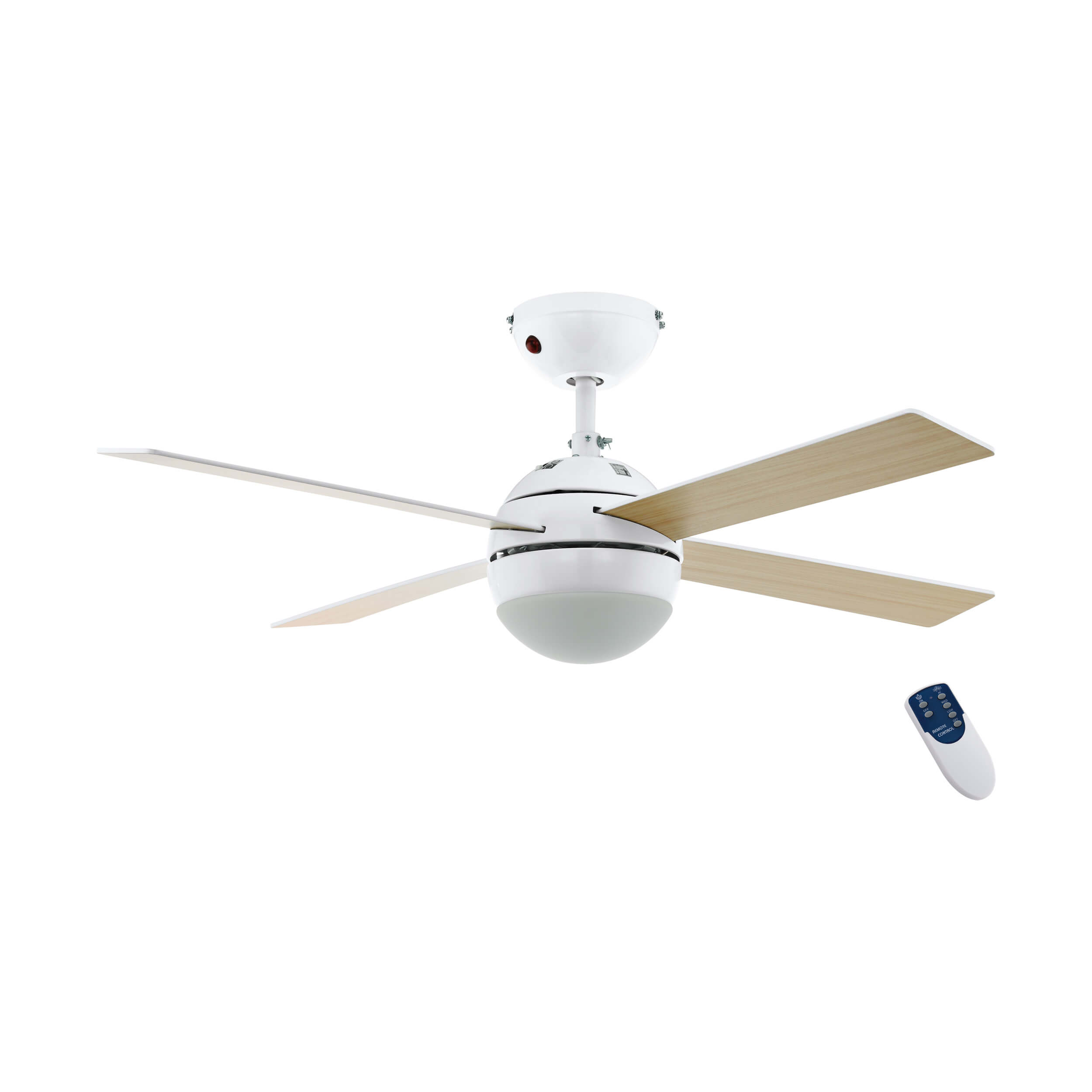 Ceiling Fan Losciale 107cm 42 With Light And Remote Home Commercial Heaters Ventilation Ceiling Fans Uk