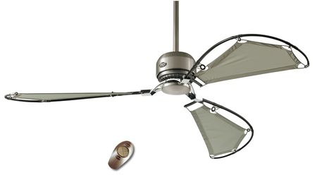 Deckenventilator AVALON 158 cm Chrom gebürstet