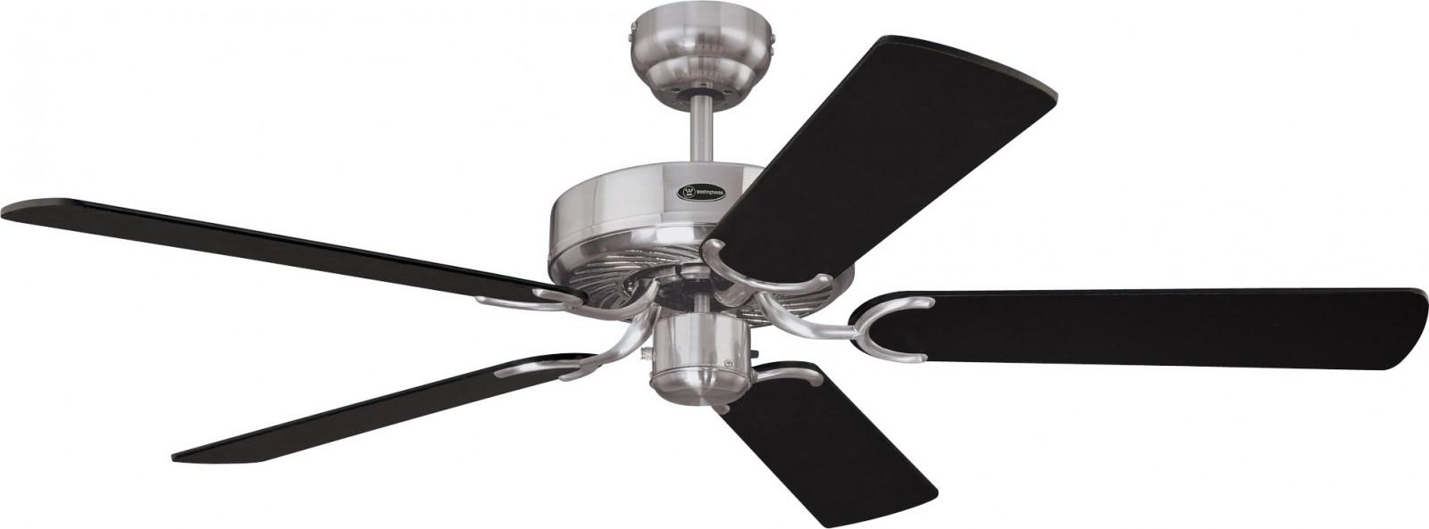 Westinghouse Ceiling Fan Cyclone Brushed Steel 132 Cm 52
