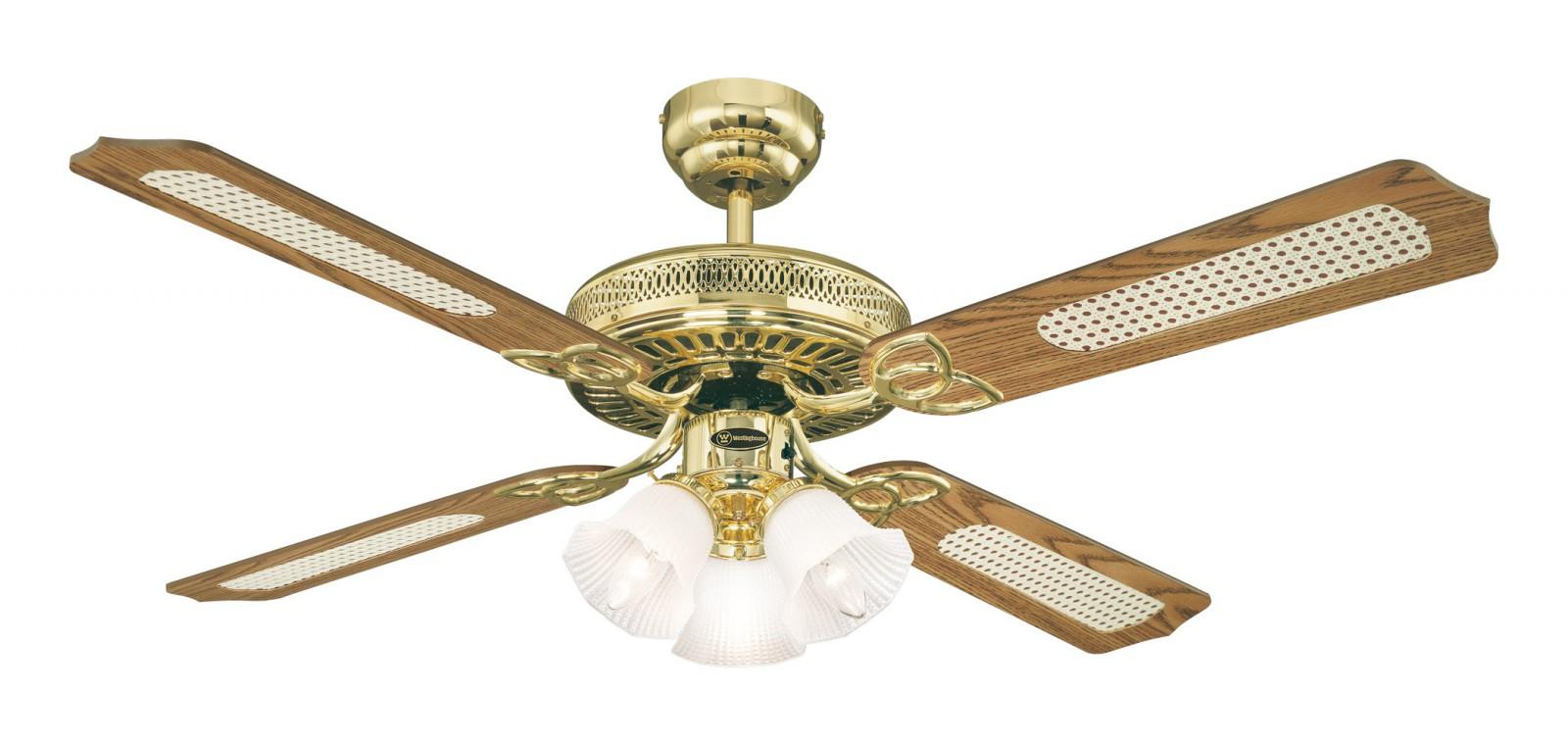 Ventilateur de plafond monarch trio de westinghouse avec - Ventilateur de plafond avec eclairage ...
