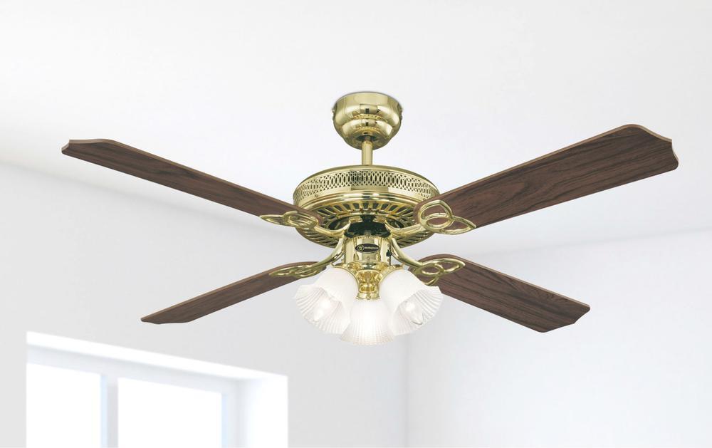 Ventilateur de plafond monarch trio de westinghouse avec - Ventilateur de plafond westinghouse ...
