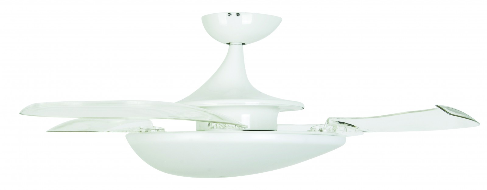 Retractable ceiling fan with light flush mount ceiling fan with light pertaining to the house - Fanaway ceiling fan ...