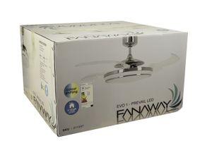 Deckenventilator Fanaway LED EVO1 dimmbar Chrom 122 cm – Bild 11
