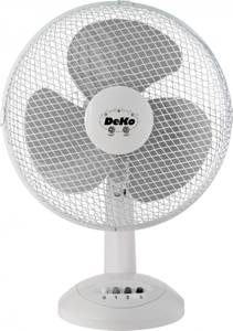 Desk Fan - Stratos B 305 White by DEKO