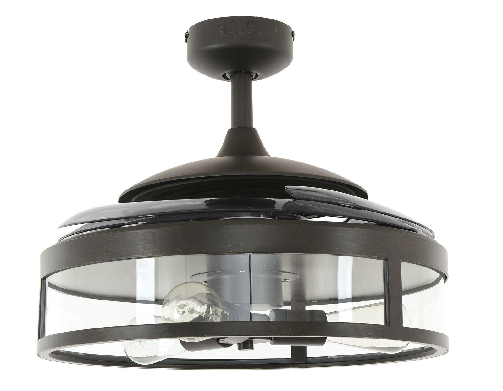 Deckenventilator-Fanaway-Classic-schwarz-mit-ein_1 Fabelhafte Deckenventilator Mit Licht Dekorationen