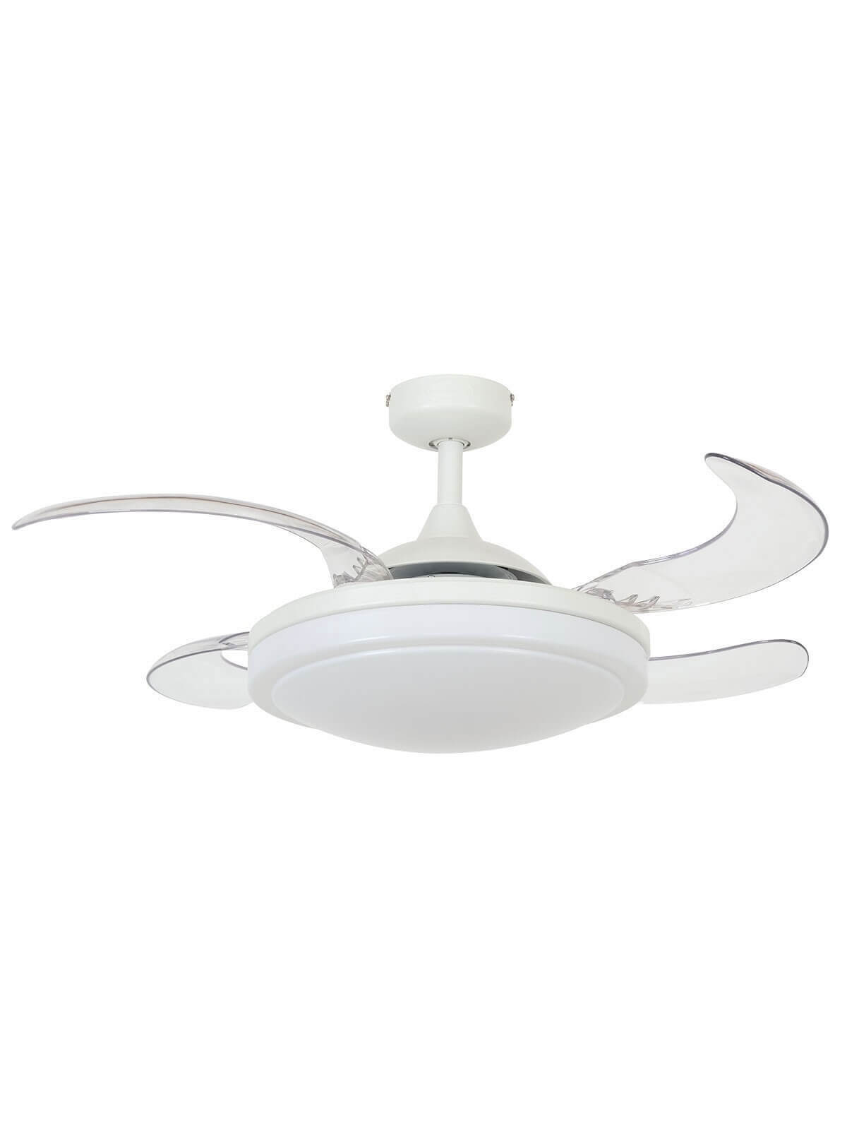 Ceiling Fan Fanaway Evora White With Light And Remote