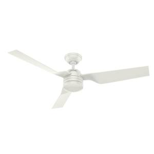 "Hunter Outdoor Ceiling Fan Cabo Frio 132cm / 52"" White"