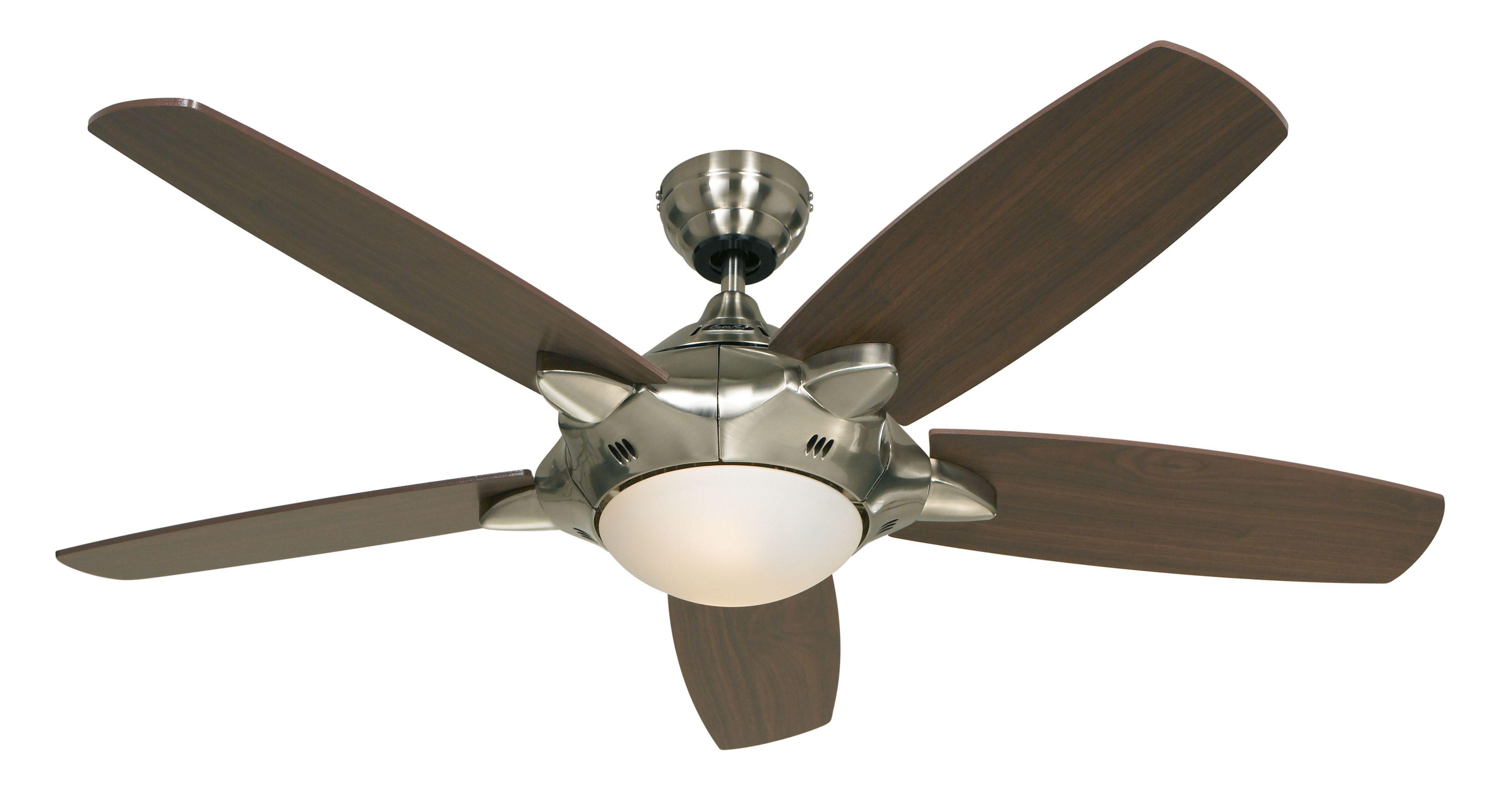 Ventilateur de plafond MERCURY 132 cm avec lumière