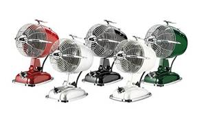 CasaFan Desk Fan Retrojet in various colours