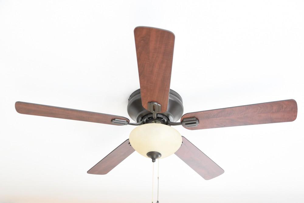 "Ceiling Fan Everett Espresso 132cm / 52"" With Light"