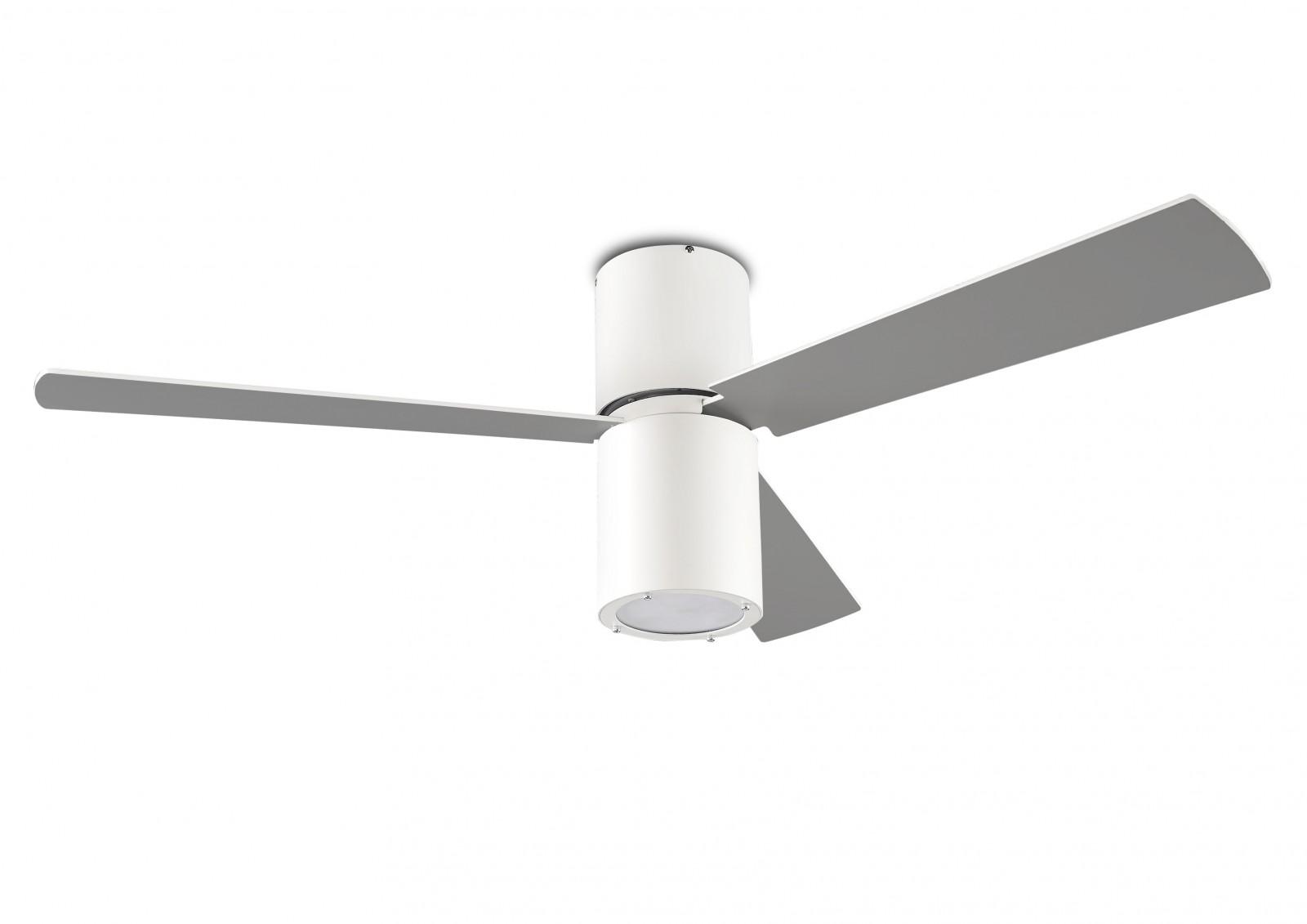 Design Deckenventilator Formentera Weiß Inklusive LED  Beleuchtung 132 Cm  Von LEDS C4 Great Ideas