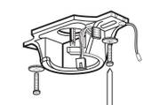 Ceiling Fan Mounting Bracket – Bild 1