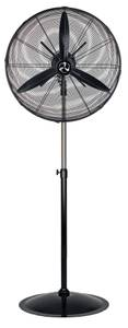 Wind machine / Pedestal fan WM3 Stand Eco Black