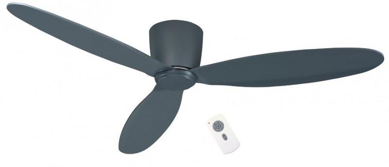 ventilateur de plafond basse consommation eco plano gris. Black Bedroom Furniture Sets. Home Design Ideas