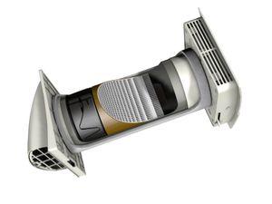 Frischluft Wärmetauscher MEnV180 mit Fernbedienung – Bild 3
