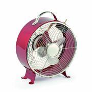 Desk Fan Triton Red by Faro