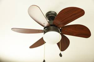 "Ceiling Fan Palao Brown 81cm / 32"" with Light"