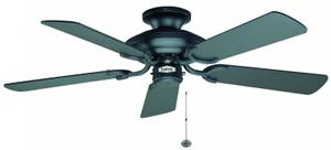 Ceiling Fan Mayfair Matt Black 107cm / 42""
