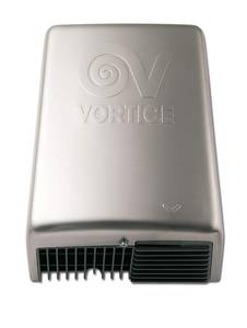 Vortice Komfort- Händetrockner Optimal Dry Metal IP X4