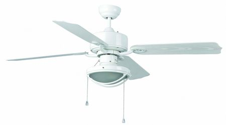 "Faro outdoor ceiling fan Hierro White 132 cm / 52"" with lighting"