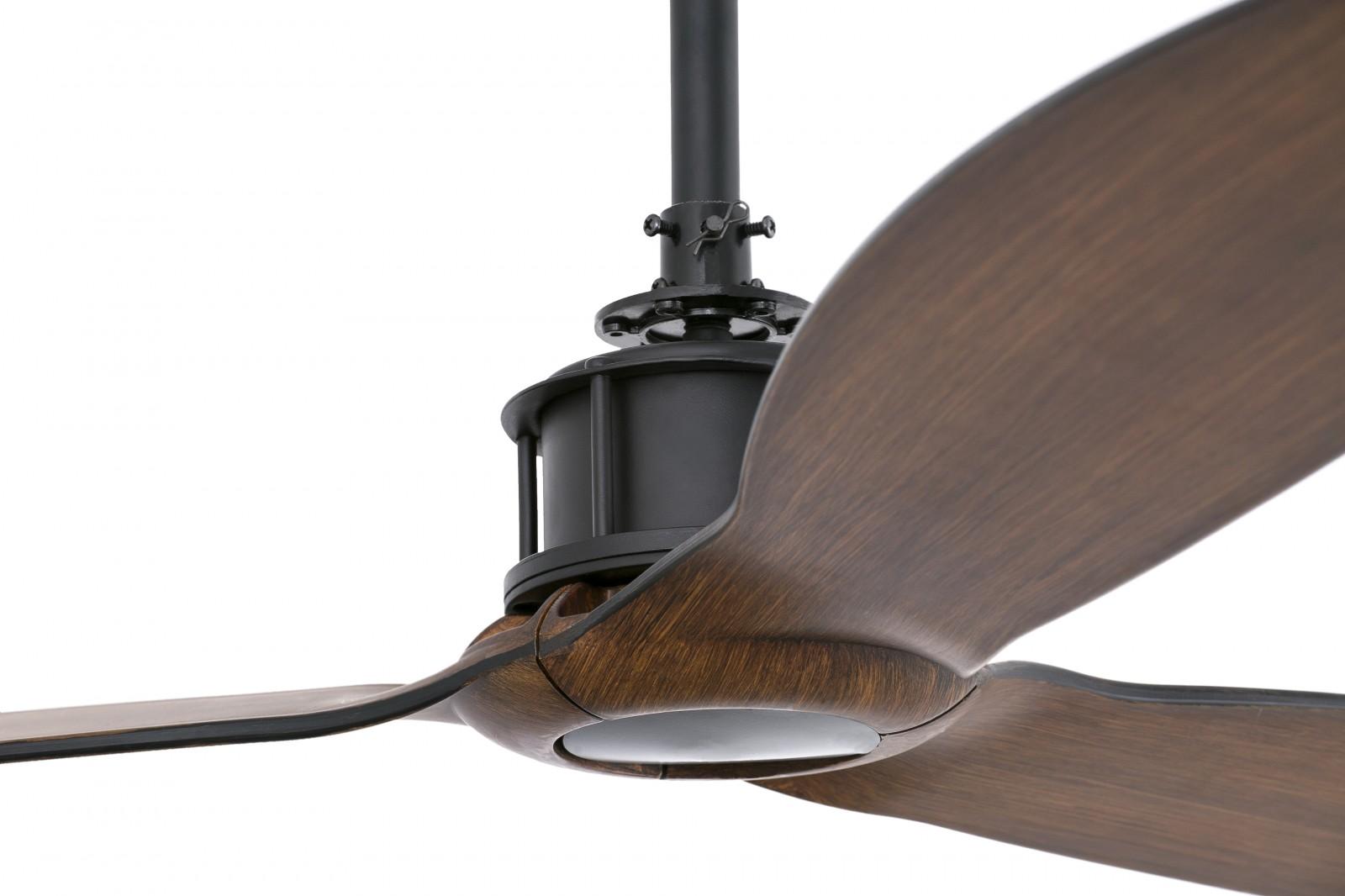 Faro Energy Saving Ceiling Fan Just Fan Walnut With Remote