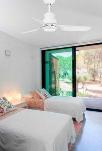 Deckenventilator Faro Phuket weiß 120 cm mit LED Licht – Bild 3
