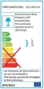 LED Anbauleuchte für Faro Cies Deckenventilator – Bild 2