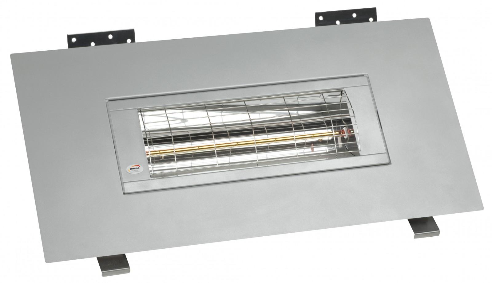infrarot einbau heizstrahler burda smart frame 2000 watt w rmeleistung ip20 verschiedene farben. Black Bedroom Furniture Sets. Home Design Ideas
