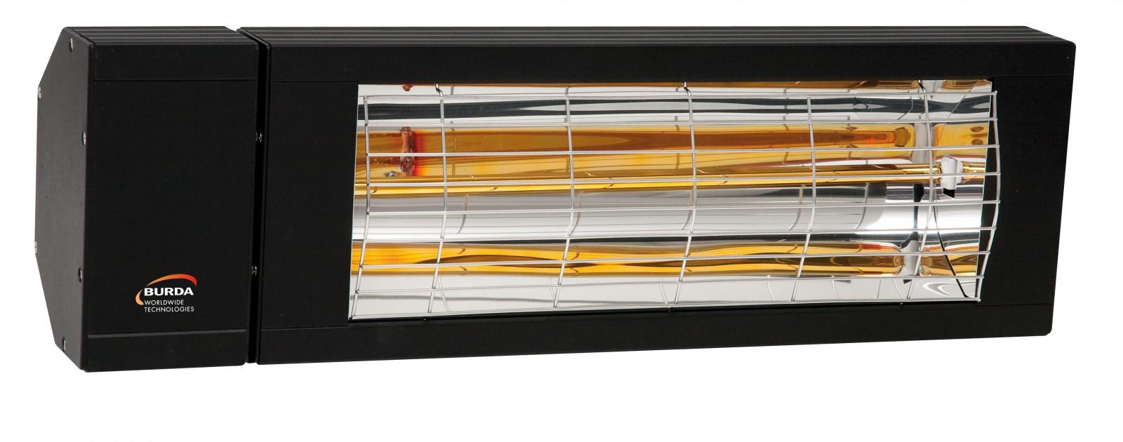 infrarot heizstrahler burda smart ip24 2000 watt w rmeleistung in verschiedenen farben. Black Bedroom Furniture Sets. Home Design Ideas
