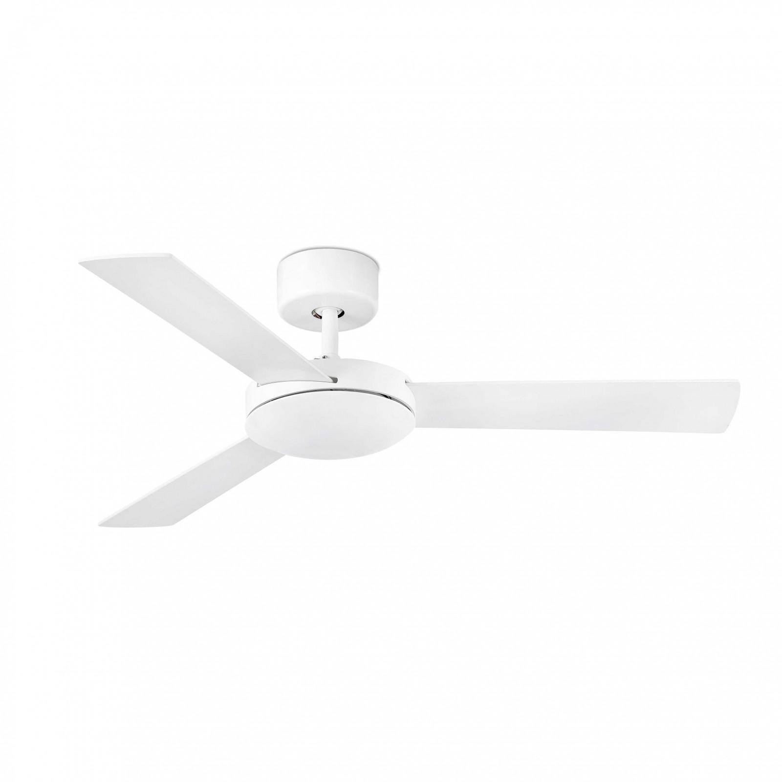 "Faro ceiling fan Mini Mallorca white 106 cm 42"" Ceiling fans for"