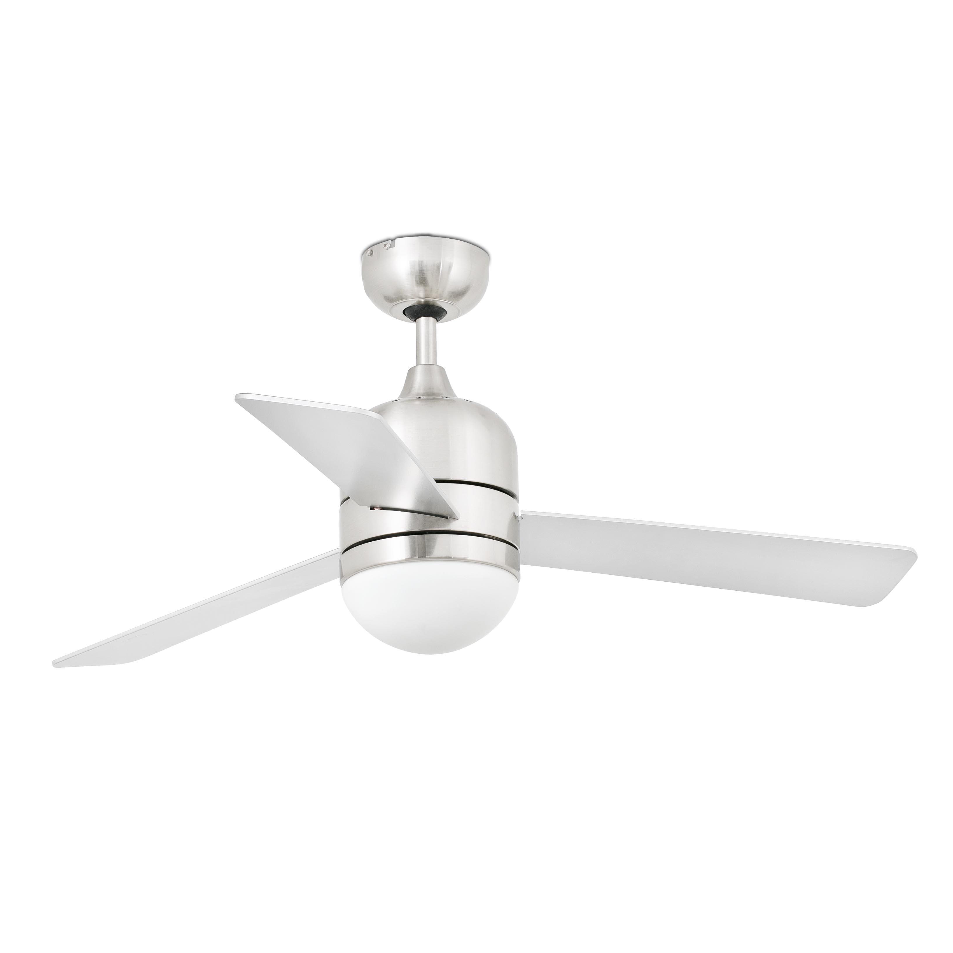 Ceiling Fan Cebu Nickel Matt 106cm 42 Quot With Light