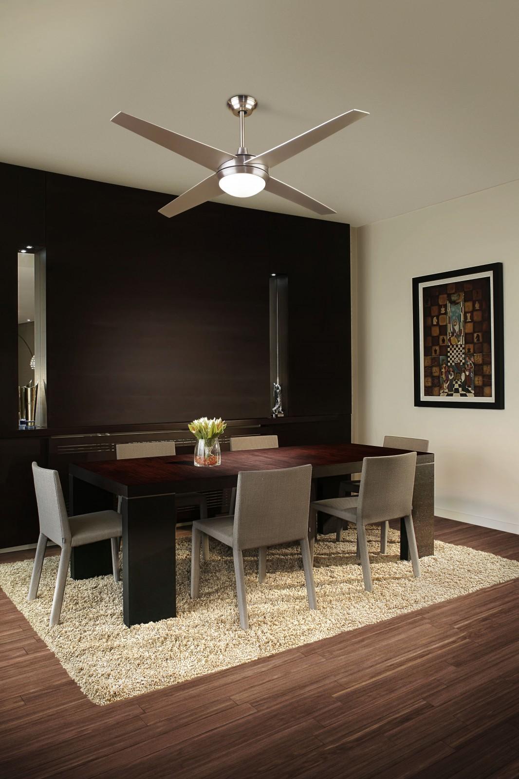 Leds c4 ventilateur de plafond hawai avec clairage 132 cm - Ventilateur de plafond avec eclairage ...