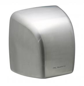P+L Systems Automatic Hand Dryer Value DV2100S Stainless