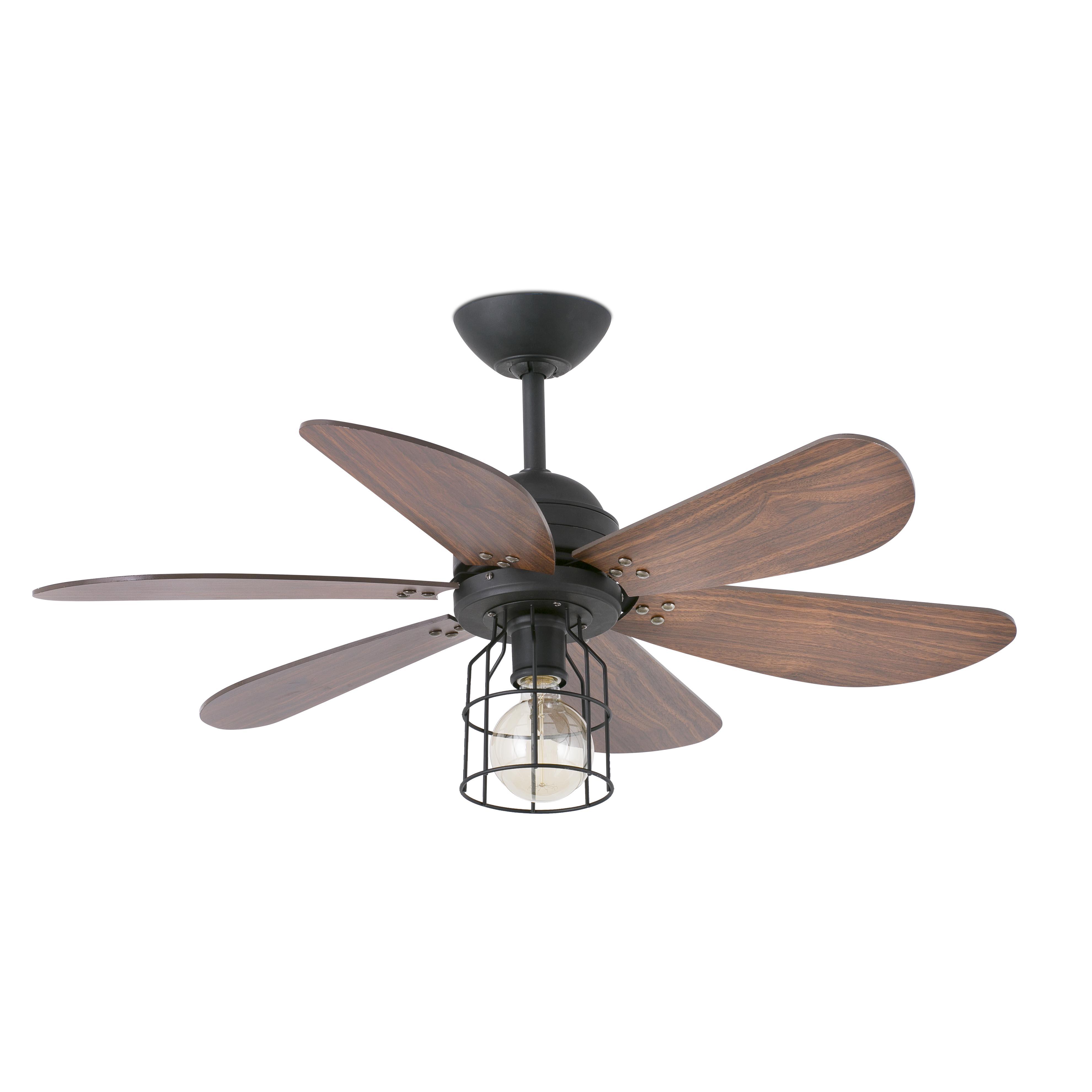 faro ventilateur de plafond chicago noir 91 5 cm. Black Bedroom Furniture Sets. Home Design Ideas