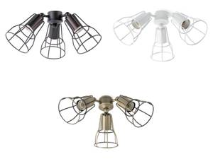Add-on light kit for ceiling fans Aloha and Yakarta