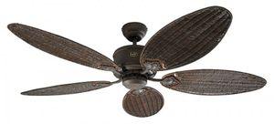 Deckenventilator Eco Elements Braun 132 cm Flügel Rattan