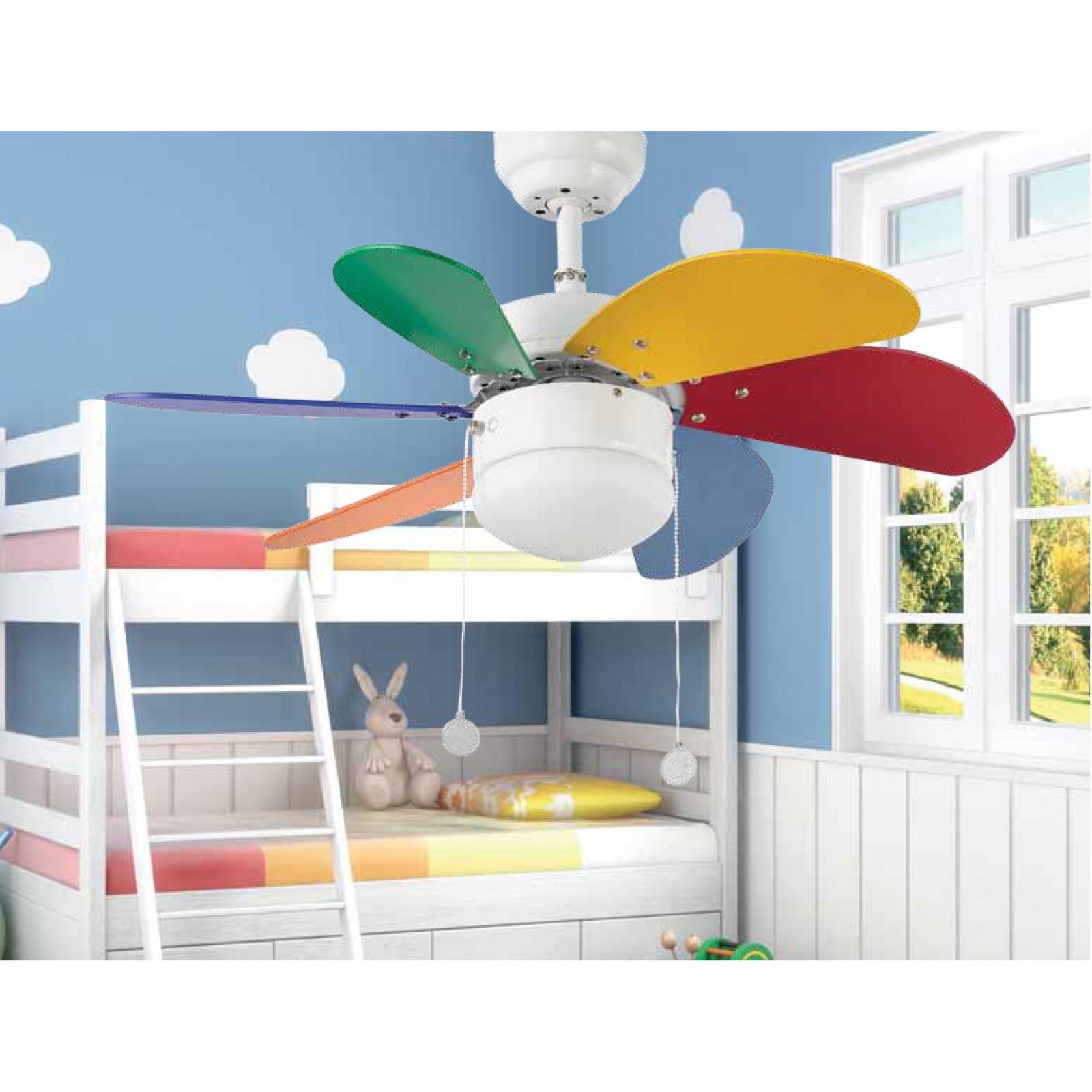 Ceiling Fan Palao Multicolor 81cm 32