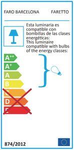 Deckenventilator Faretto mit Licht und Fernbedienung – Bild 6